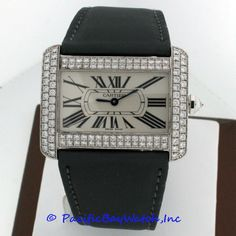 Cartier Divan Diamond Men's Pre-owned
