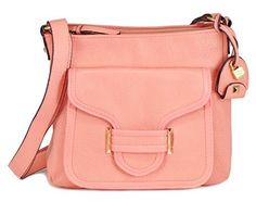 Jessica Simpson Leah Cross Body Bag Peach One Size ** Read more reviews of the product by visiting the link on the image.Note:It is affiliate link to Amazon.
