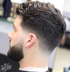 taper haircut for wavy hair