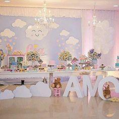 Mais um tema lindo que tá bombando! Chuva de amor!  #ateliejulika #julikafestas #decor #festasinfantis #chababy #festastematicas #batizado #chadepanela #wedding #convites#chuvadeamor#chuvadebencaos#festachuvadeamor Via pinterest.
