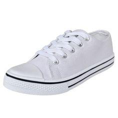 Ebay Angebot S# Low Top Damen Sportschuhe Turnschuhe Sneaker Canvas Sport Schnür Schuhe Gr. 3Ihr QuickBerater