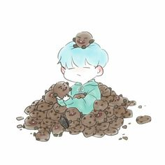 Yoongi and Shooky