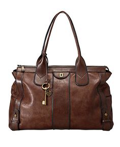Fossil Handbag, Vintage Reissue Tote - Handbags & Accessories - Macy's