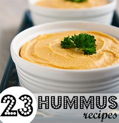 I need to try these! Hummus yummus. I just made that up! HA!