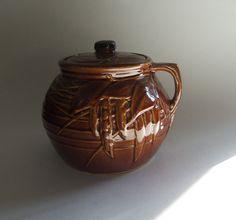 Vintage McCoy Pottery Bean Pot