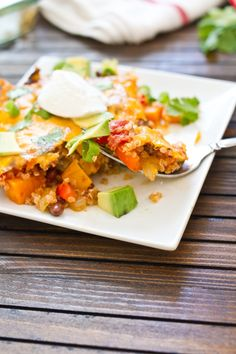 Kick off meatless Monday with Eating Bird Food's recipe for a celebratory fiesta bake featuring quinoa, black beans and sweet potatoes. This flavorful take on a casserole can be made ahead of time,...