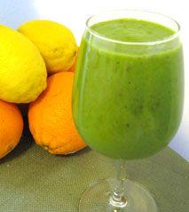Lemon-Orange with Apple Green Smoothie Recipe    Vegan, vegetarian, lactose free, milk free!!!!!!  YAY!!!!