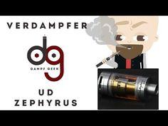 UD Zephyrus Verdampfer Vorstellung - YouTube