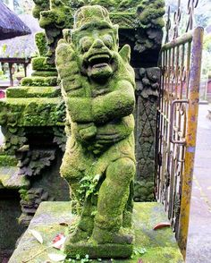 #mossy #temple #protector #Bali #Indonesia