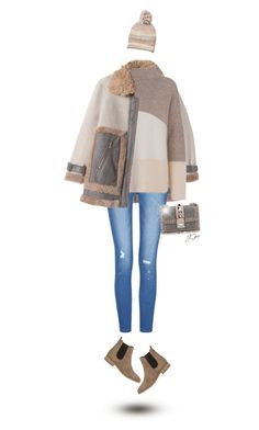 """Shearling Mix Coat"" by jgee67 ❤ liked on Polyvore featuring Valentino, Barneys New York, French Connection, Steve Madden, polyvoreblogger and polyvoreeditorial"