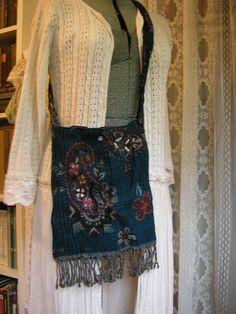 Bohemian Gypsy Bag plain unembellished version by GrandmaDede, $30.00