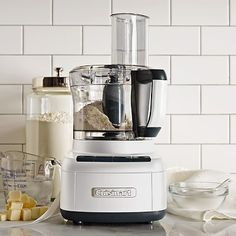 Shop Williams Sonoma for a complete selection of Cuisinart food processors and Cuisinart appliances. Cuisinart food processors and appliances combine durability, innovation and stylish good looks. Small Kitchen Appliances, Kitchen Gadgets, Cool Kitchens, Kitchen Utensils, Kitchen Tools, Cooking Utensils, Kitchen Items, Cuisinart Food Processor, Food Processor Recipes