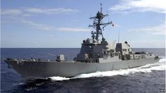 US Navy destroyer USS Sampson
