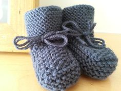 More of my baby booties.