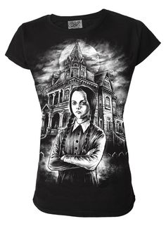 """Darkside ® - Wednesday Womens T Shirt, <span class=""""ProductDetailsPriceIncTax"""">$21.39 (inc VAT)</span> <span class=""""ProductDetailsPriceExTax"""">$17.82 (exc VAT)</span> (http://www.darksideclothing.com/wednesday-womens-t-shirt/)"""