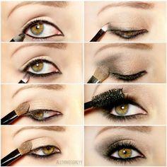 New Year's Eve Glitter Eye Makeup Tutorials