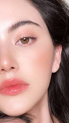Casual Makeup, Cute Makeup, Pretty Makeup, Makeup Trends, Makeup Inspo, Makeup Inspiration, Skin Makeup, Beauty Makeup, Makeup Korean Style