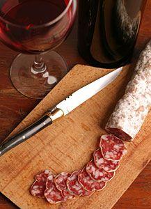 FRANCE SACRÉE: L'histoire du saucisson sec ~ Colette Le Mason @}-,-;--