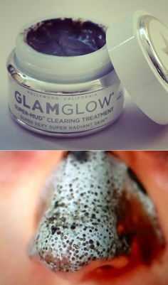 PinTutorials: I'm not over selling this Mask when I say that you can see all the gunk being pulled out of your blackheads! Seriously