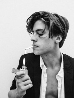 "smokingcelebs: "" Cole Sprouse """