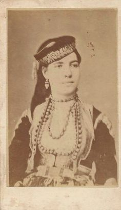 "Princess Milica of Montenegro before she became the Grand Duchess Militza Nikolaevna Romanova of Russia. ""AL''"