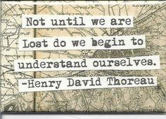 Henry david thoreau quotes and sayings understand ourselves
