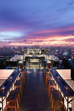Vertigo Restaurant at Banyan Tree Bangkok, Thailand www.islandescapes.com.au