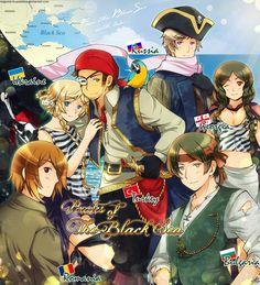 APH: Pirates of the Black Sea by Kagome-Inuyashkina