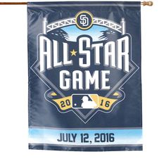 "San Diego Padres WinCraft 2016 MLB All-Star Game 27"" x 37"" Vertical Banner - $18.99"