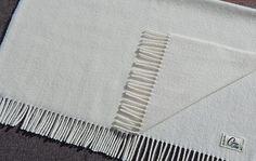 Baby Blanket White - 100% Lambswool