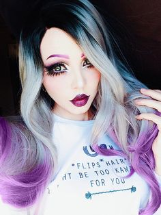 Dascha Synthetic lace front wig