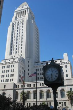 Art Deco architecture of Los Angeles City Hall