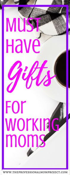 Not sure what to buy for the amazing mom in your life? Check out this gift guide full of the best gifts for working moms.