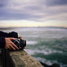 hasselblad by the sea by manyfires, via Flickr