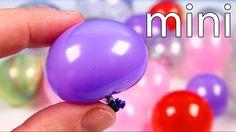 DIY REAL Miniature Balloons