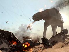 Star Wars Battlefront: Battle of Jakku Teaser Trailer Star Wars Rpg, Star Wars Ships, Star Wars Concept Art, Star Wars Images, Art Base, Star Destroyer, Love Stars, Sci Fi Fantasy, War Machine