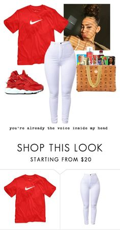 """Tell Me If I'm Crazy ❤️"" by jayyyyyybaby ❤ liked on Polyvore featuring NIKE"