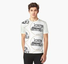 Crazy Car Art / graphic t-shirt