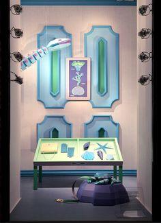 """Hermes,""""Curiosity Cabinet Sea Life/Explorer"""", pinned by Ton van der Veer"""