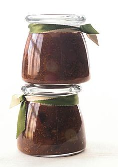 Balsamic Fig Chutney with Roasted Grapes SERVING SUGGESTIONS: With roast chicken or pork, or spoon atop goat-cheese crostini. Save Recipe Makes 1 quart Grape Recipes, Fig Recipes, Chutney Recipes, Onion Recipes, Healthy Recipes, Homemade Food Gifts, Diy Food Gifts, Jar Gifts, Homemade Cheese