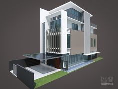 PRIVATE HOUSING - Singapore 2012 by Inbetween ARCHITECTS , via Behance
