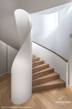 Staircase Architecture, Staircase Design, Staircases, Interior Styling, Interior Design, Bookshelves Built In, Interiors Magazine, Stairway To Heaven, Spiral Staircase