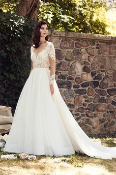 """Paloma Blanca wedding dress  