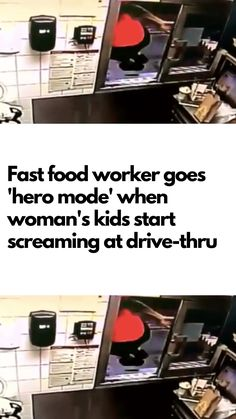 Fast Food Worker Goes 'Hero Mode' When Woman's Kids Start Screaming At Drive-Thru Fancy Living Rooms, Red Lipstick Shades, Fast Food Workers, Lace Dream Catchers, Laughing Therapy, Weird World, Make It Through, Funny Pins, Weird Facts