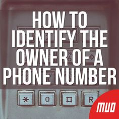 Received a call from a number you don't recognize? These lookup sites can help you identify the caller before you ring them back. Life Hacks Computer, Iphone Life Hacks, Computer Help, Computer Tips, Technology Hacks, Computer Technology, Medical Technology, Energy Technology, Cell Phone Hacks