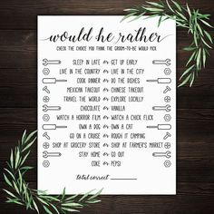 Would He Rather . Would He Rather Wedding Shower Game . Be My Groomsman, Groomsman Gifts, Groomsmen Socks, Fun Bridal Shower Games, Groomsmen Proposal, Altar Decorations, Getting Up Early, Matching Games, Card Games