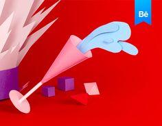 """Popatrz na ten projekt w @Behance: """"Spring Festival Poster Series"""" https://www.behance.net/gallery/29784689/Spring-Festival-Poster-Series"""