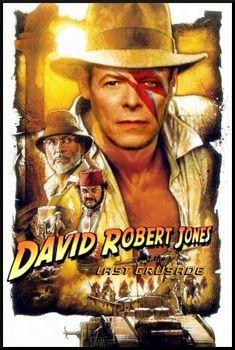 David Bowie Movie Poster Mash-Ups