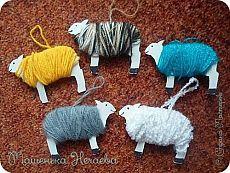 Hračky na vánoční stromeček. Ovce. Master Class
