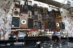 Speaker installation at The Deaf Institute